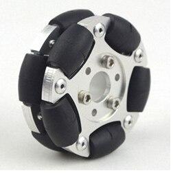 60mm Dual Aluminum Omnidirectional Wheel 60mm Robot Competition Universal Wheel Aluminum Wheel60mm Dual Aluminum Omnidirectional Wheel 60mm Robot Competition Universal Wheel Aluminum Wheel