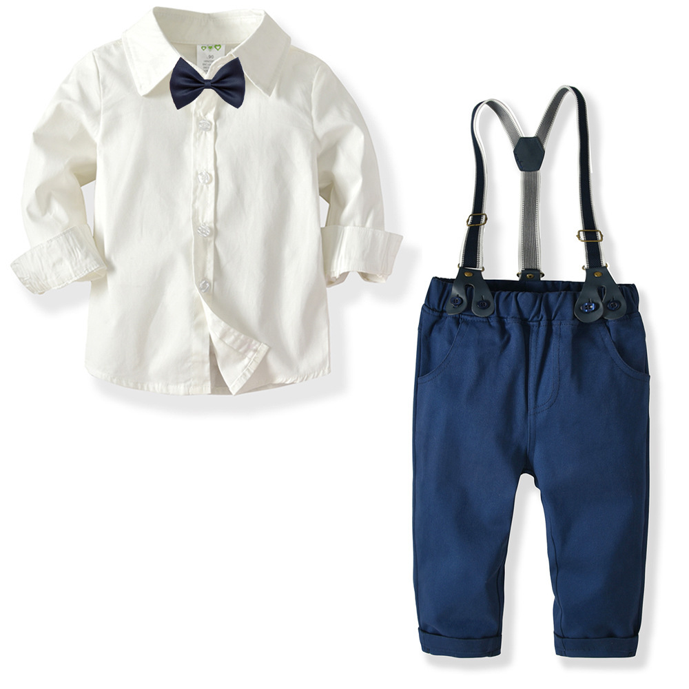 Children Clothing New Autumn Winter Boys Clothes T shirt Pant 2pcs Outfit Kids Clothes Boys Suit For Toddler Boys Clothing Sets in Clothing Sets from Mother Kids