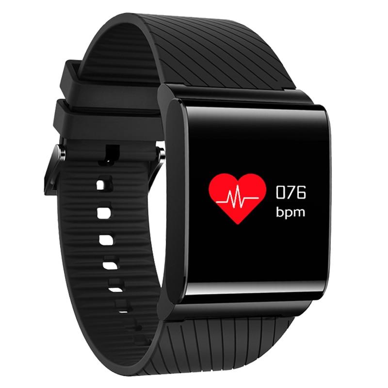 BANGWEI Smart Electronics Bracelet Watch OLED Color Screen Heart Rate Activity Fitness tracker IP67 waterproof Screen Wristband