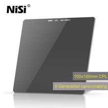 NiSi CPL 100*100mm HD Square Filter Glass Polarizer Insert Polarized Filters
