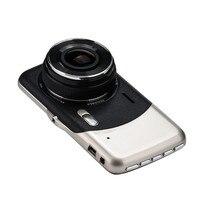 4 IPS HD 1080P Dual Lens Camera DVR Video Recorder Rear Dash Cam G Sensor Futural