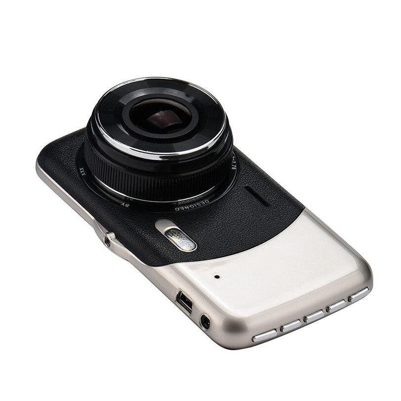 4 IPS HD 1080P Dual Lens Camera DVR Video Recorder Rear Dash Cam G-sensor Futural Digital JUN8
