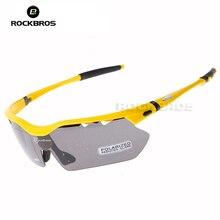 Hot! RockBros Polarized  Sun Glasses Outdoor Sports Bicycle Glasses Bike Sunglasses TR90 Goggles Eyewear 5 Lens #10014