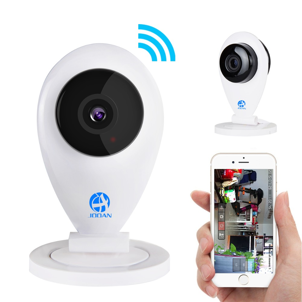JOOAN NEW Smart font b security b font cctv Surveillance camera 720P Mega pixel HD WiFi