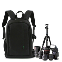 DSLR Camera Backpack Multifunction Photo Bag With 15 Inch Laptop Pack Travel Bag Waterproof For Canon