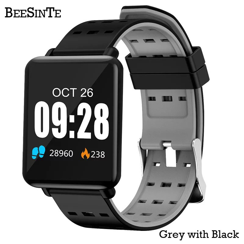 Image 2 - Smart wristband Fitness Activity Tracker Watch Waterproof with Sleep Monitor Smart Bracelet Sport Pedometer Fitness Armbands Hot-in Smart Wristbands from Consumer Electronics
