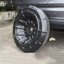 Lsrtw2017 PP Car Spare Tire Protection Cover Tire Shield for Acura RDX 2019 цена