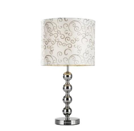 Европейский стиль простой спальня прикроватный настольная лампа яркий серебро Гостиная Исследование гальваническим печать настольная ла...