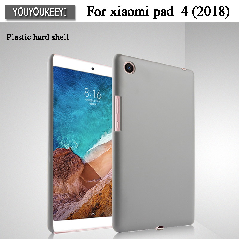 Ultra Slim PC Hard Plastic Case Shell Sleeve Back Protector Coque Funda Cover For Xiaomi MiPad 4 Mi Pad 4 Pad4 8.0 2018 Tablet elonbo beautiful stripe plastic hard back cover for iphone 6 4 7 inch