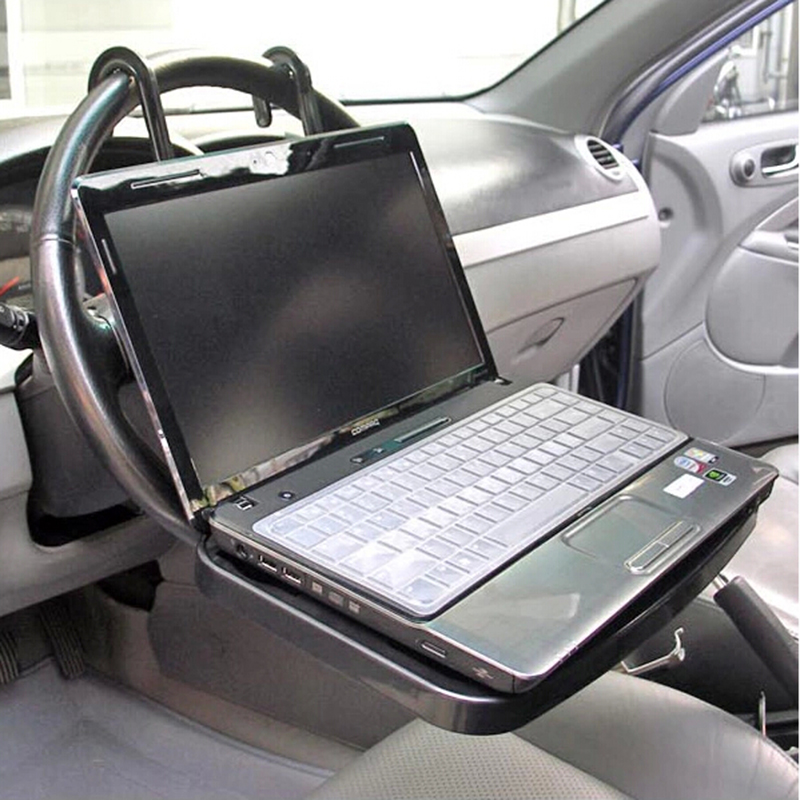 Portable Car Laptop Stand Foldable Car Back Seat Steering