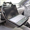 Portable Car Laptop Stand Foldable Car Back Seat Steering Wheel Mount Notbook Tray Table Food Drink Holder Stands