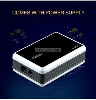 Aquarium Oxygen Pump Aerator Compressor 110V-240V/USB  11