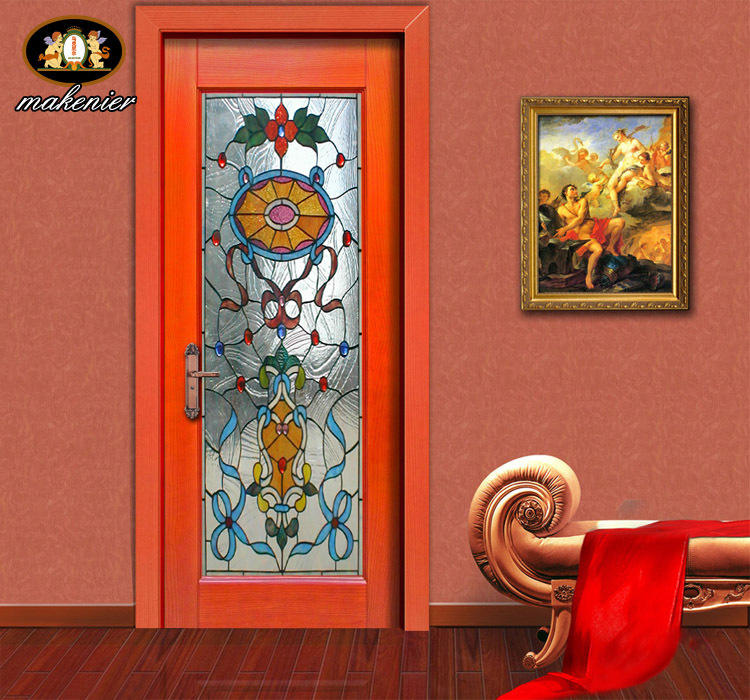 Custom Sliding Doors And Stained Glass Church Entrance Sliding Door