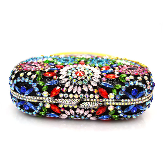 New Crystal Design Evening Clutch Bag