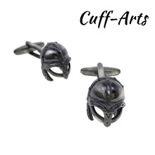Cufflinks for Men Viking Helmet Mens Cuff Jewelery Gifts Vintage by Cuffarts C10311