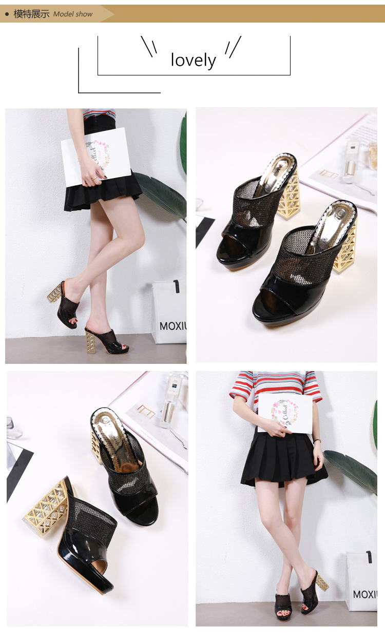 Summer Platform Sandals 2019 Fashion Women Gladiator Sandal Wedges Shoes Casual Woman Peep Toe Black Platform Sandals 37