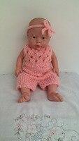 Babymmclothes zomer stijl fro zen kleding headware en jarretel broek luier cover voor foto prop roze kleur