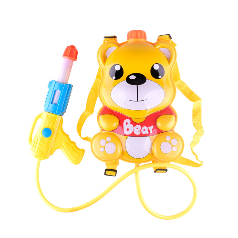 Children Water Gun Toys Cute Animals Bee Ladybug Bear Bag Backpack Water Gun Beach Squirt Toy Pistol Spray Water Gun Toy Gift