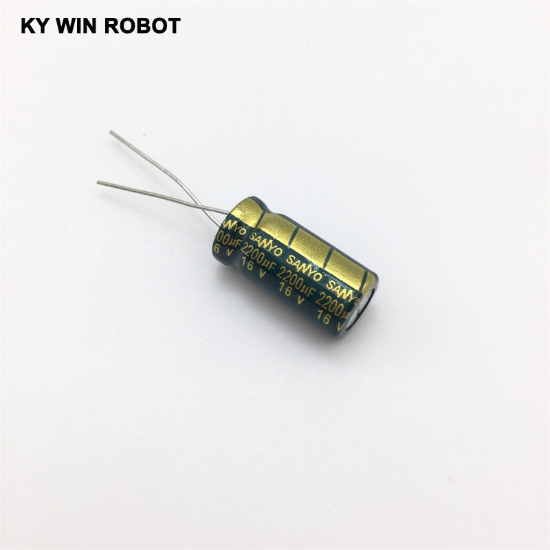 aluminum electrolytic 16V 2200UF 10*20 high frequency low impedance aluminum electrolytic capacitor 2200uf 16v (3)
