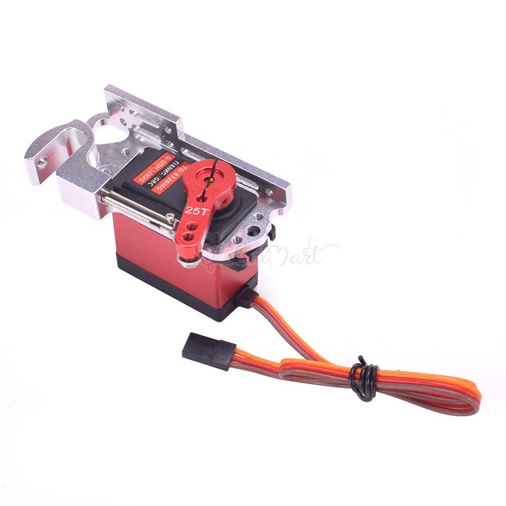 Сервопривод параболический переключатель воздушный автомобиль бросок устройство диспенсер с 20 кг сервопривод и рычаг 25 т для карданного пульта дистанционного управления автомобиля RC