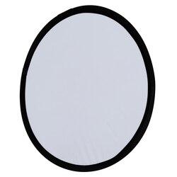 Brand New bezpłatna torba 2-in-1 światła Mulit składany biały i srebrny reflektor do zdjęć 60cm akcesoria fotograficzne dla latarka