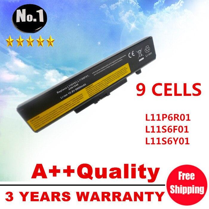 WHOLESALE NEW 9CELLS LAPTOP BATTERY L11P6R01 L11S6F01 L11S6Y01 FOR LENOVO G500 Y485N Series IdeaPad G580 Y580 Y480 Z480 Y580N