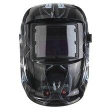 Промо-акция! Солнечный автоматический сварочный шлем Сварочная маска автоматический сварочный щит MIG TIG ARC сварочный щит(Терминатор