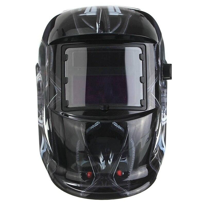 Промо-акция! Солнечный автоматический сварочный шлем Сварочная маска автоматический сварочный щит MIG TIG ARC сварочный щит (Терминатор)