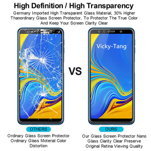 Image 5 - Tempered Glass for Samsung Galaxy A7 2018 A750 Screen Protector 9H 2.5D Phone Protective Glass for Samsung Galaxy A7 2018 Glass