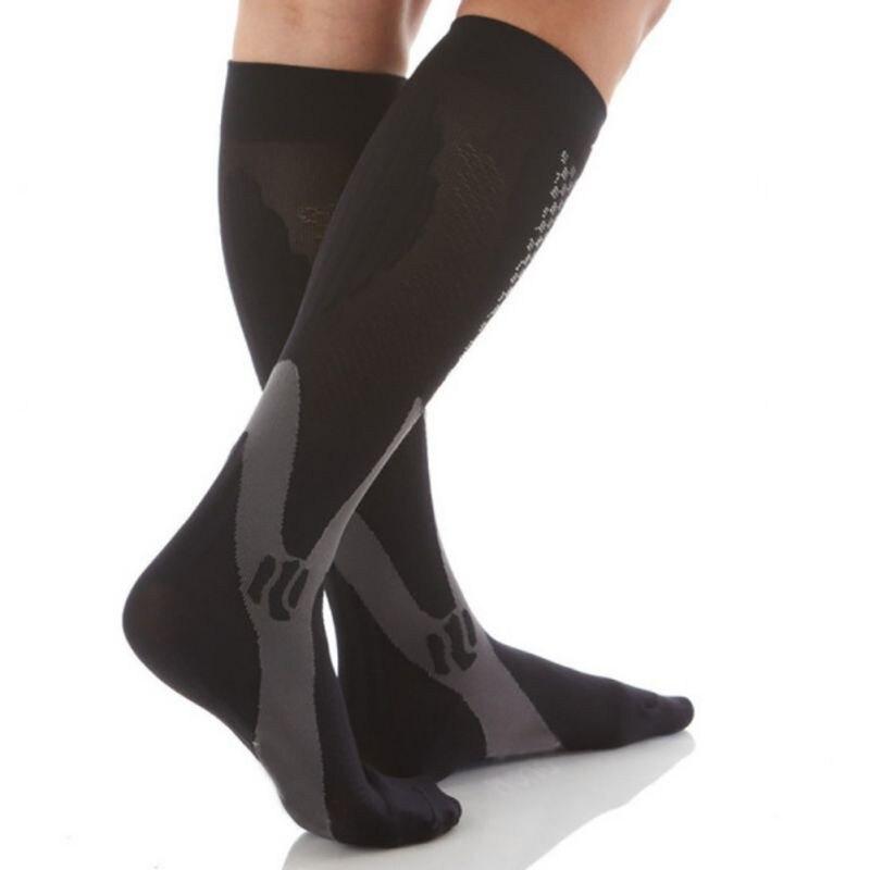 HTB1QqLWv5CYBuNkSnaVq6AMsVXay - Men Women Leg Support Stretch Compression Socks