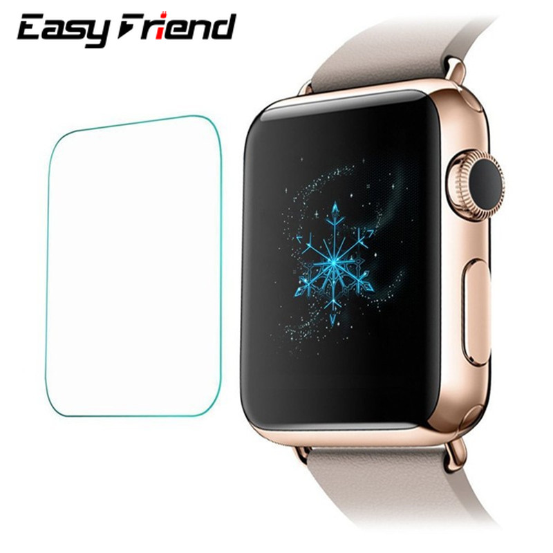 For Apple Watch 1 / 2 / 3 / 4 iwatch Series 38 42 44 40 mm 38mm 40mm 42mm 44mm Screen Protector Protective Film Tempered Glass