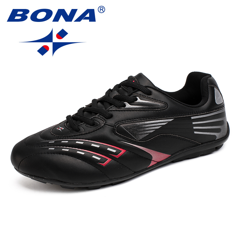 BONA New Arrival Classics Style Men Soccer Shoes Athletc Training Football Shoes Action Leather Men Sneakers Fast Free Shipping 2016 new arrival men soccer sets multi use football shirt training sports wears clothes suit jerseys paintless suits tracksuit