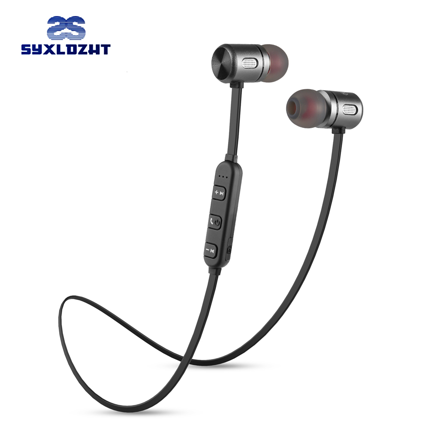 SYXLDZHT Bluetooth Earphone wireless headphones sports bass bluetooth headset earbuds with mic for iphone xiaomi phone