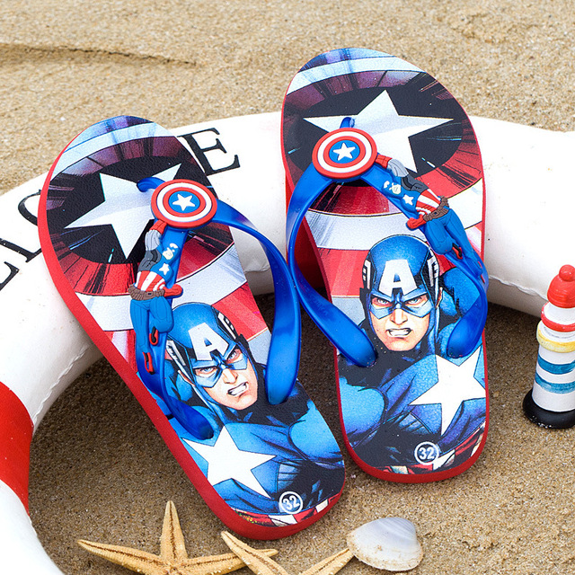 7c4e88b1ad26 New Boy Girls Sandals Kids Shoes Children Flip Flops Baby boy Beach Sandals  Fashion Summer Children