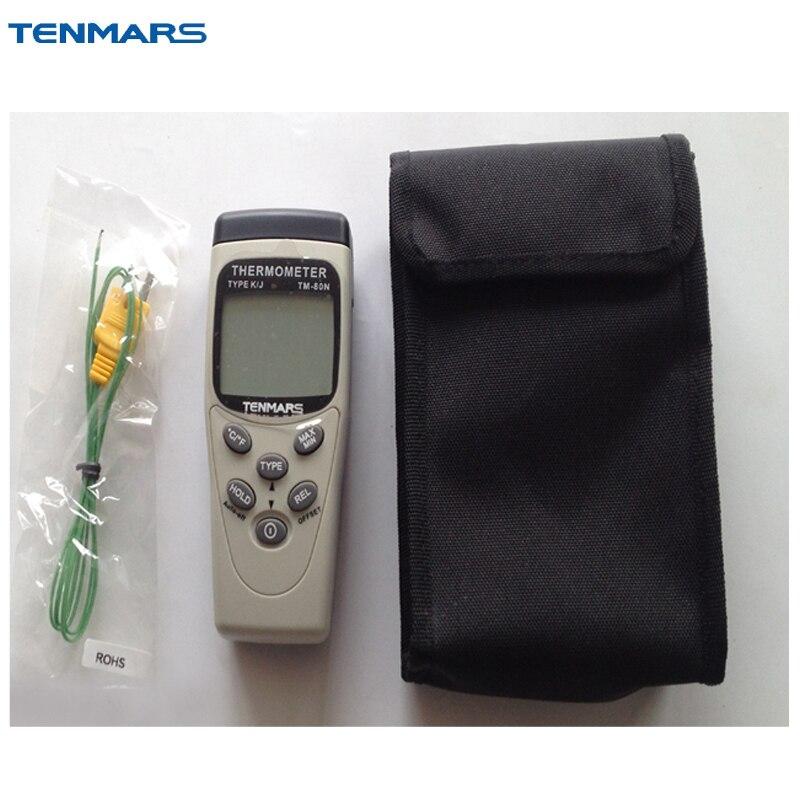 TENMARS TM-80N K/J Type Thermometer  цены