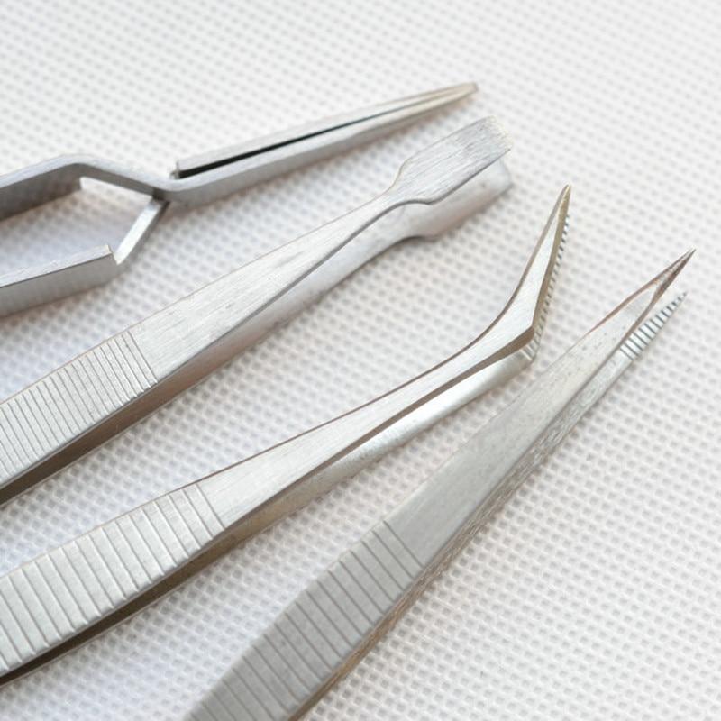 RDEER 4Pcs / Set Electronics Tweezers Forceps Set de instrumente - Unelte de mana - Fotografie 4