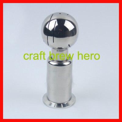 304 bola de limpieza de acero inoxidable pulido barril femenino sanitaria tipo d