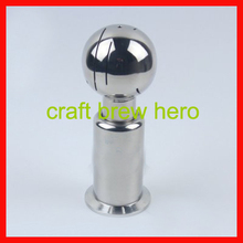 DN15 female keg cleaning ball, CIP cleaning ball, home brew malt spray ball