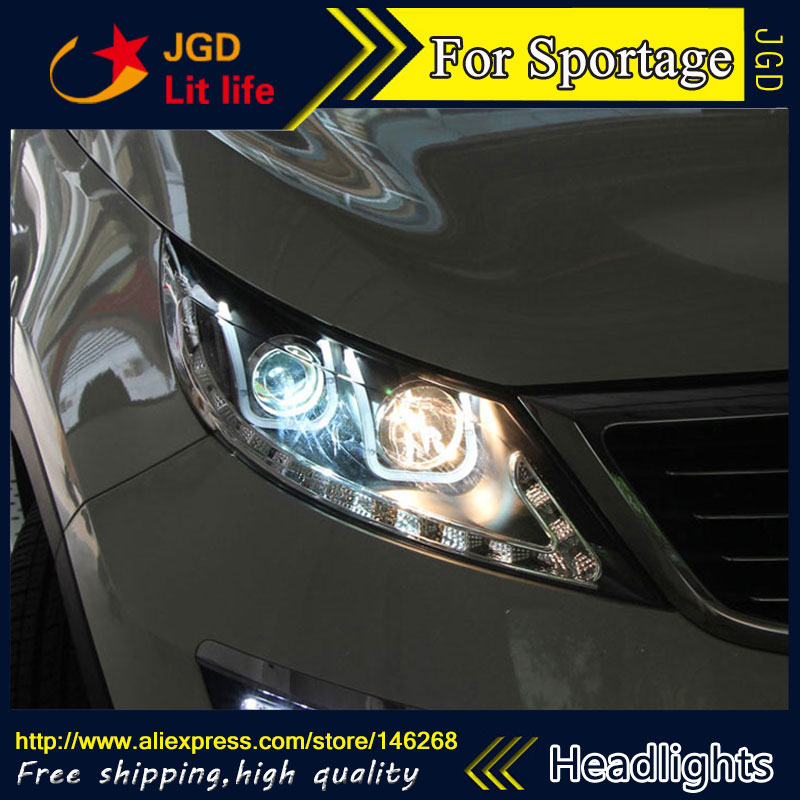 Free shipping ! Car styling LED HID Rio LED headlights Head Lamp case for KIA Sporttage 2009-2011 Bi-Xenon Lens low beam recent trends for solving fuzzy multi objective programming problems