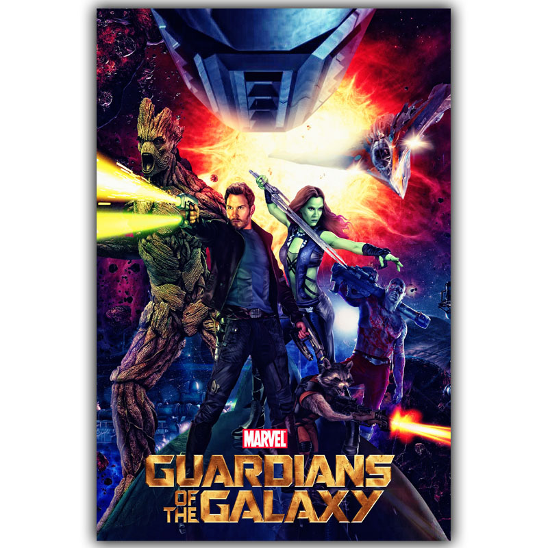 Guardians of the Galaxy Poster 30x45cm 60x90cm Classic Movie Pictures Living Room Decor