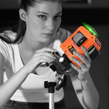 LOMVUM Portable Laser Level 360 Degree Self-leveling Cross Nivel Leveler Line 8 Lines 2D 12 3D