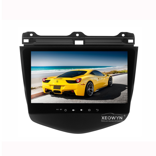 "Android 6.0 1024*600 Quad core 10.1"" Car radio GPS Navigation for HONDA Accord 7 2003-2007"