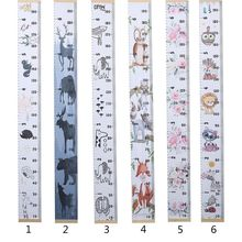 Children Baby Height Growth Ruler DIY Simple Creative Decorative Wall Stickers Painting Kids Room Home Decoration Art Ornament