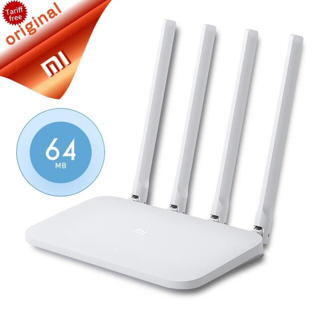 Tiểu Mi Mi WIFI 4C Thông Minh ỨNG DỤNG Điều Khiển 64 RAM 802.11 B/g/n 2.4G 300 Mbps 4 ăng ten
