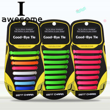 16Pc/Set No Tie Shoelaces for Kids and Adults 13 Colors Elastic Silicone Shoelaces Athletic Running Shoes Lace All Sneakers Fit new 3 sets 16 roots unisex adults womens mens fashion no tie elastic silicone shoelaces flat shoes footwear recreational running