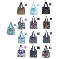 13 Colors Cute Travel Foldable Handbag Grocery Tote Reusable Portable Shopping Bags Women Foldable Eco Shopping Bag Tote Pouch