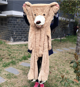 Image 5 - 100cm 200cm America Giant Teddy Bear Plush Toys Soft Teddy Bear Skin Popular Birthday & Valentines Gifts For Girls Kids Toy