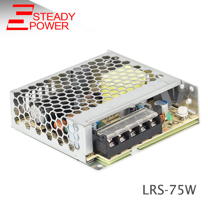 LRS-75 <font><b>DC5V</b></font> 12V 24V <font><b>48V</b></font> Switching Power Supply 85-264VAC input Power Supply 15V 36V driver For LED Strip image