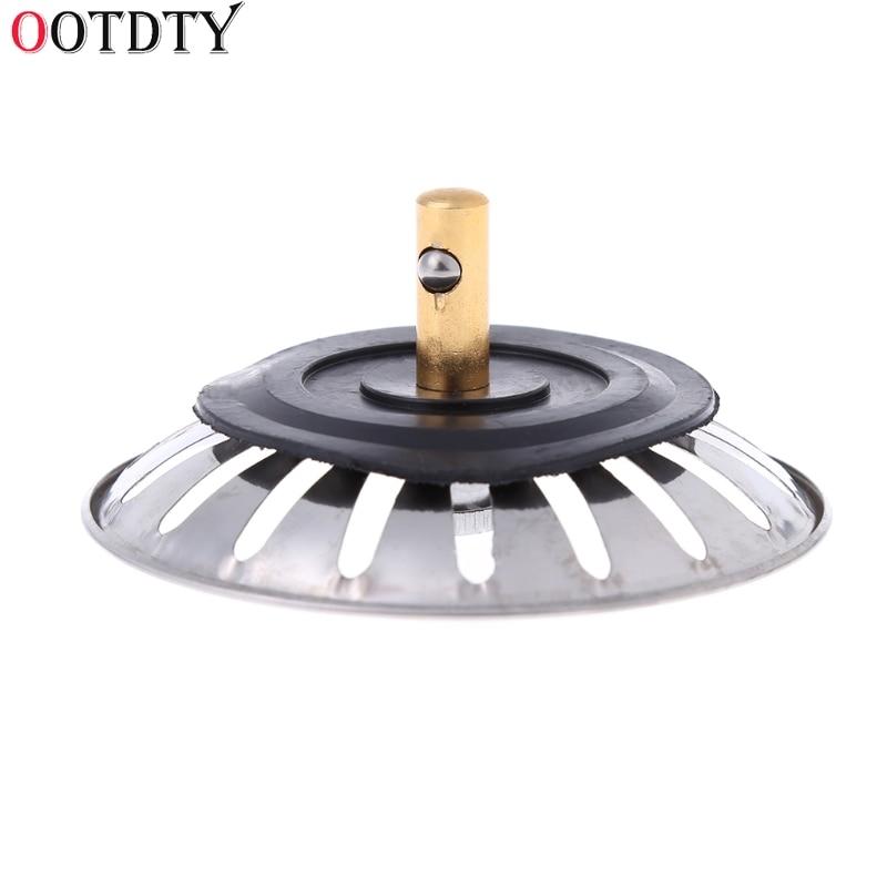 OOTDTY Мода 2018 г. кухонные отходы нержавеющая сталь Раковина пробка фильтра сливной фильтр для раковины крылом