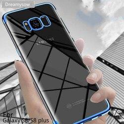 Покрытие Мягкие TPU Чехлы для samsung Galaxy S8 S9 плюс S6 S7 край A7 2018 A5 2016 Примечание 8 J5 J7 2017 ультра тонкий чехол S10E M20 случае
